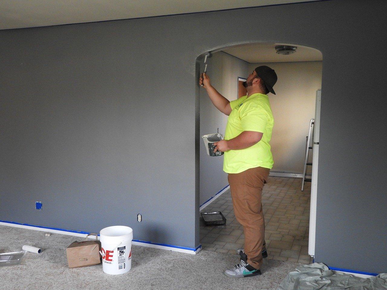 peindre murs logement avant etat des lieux sortie
